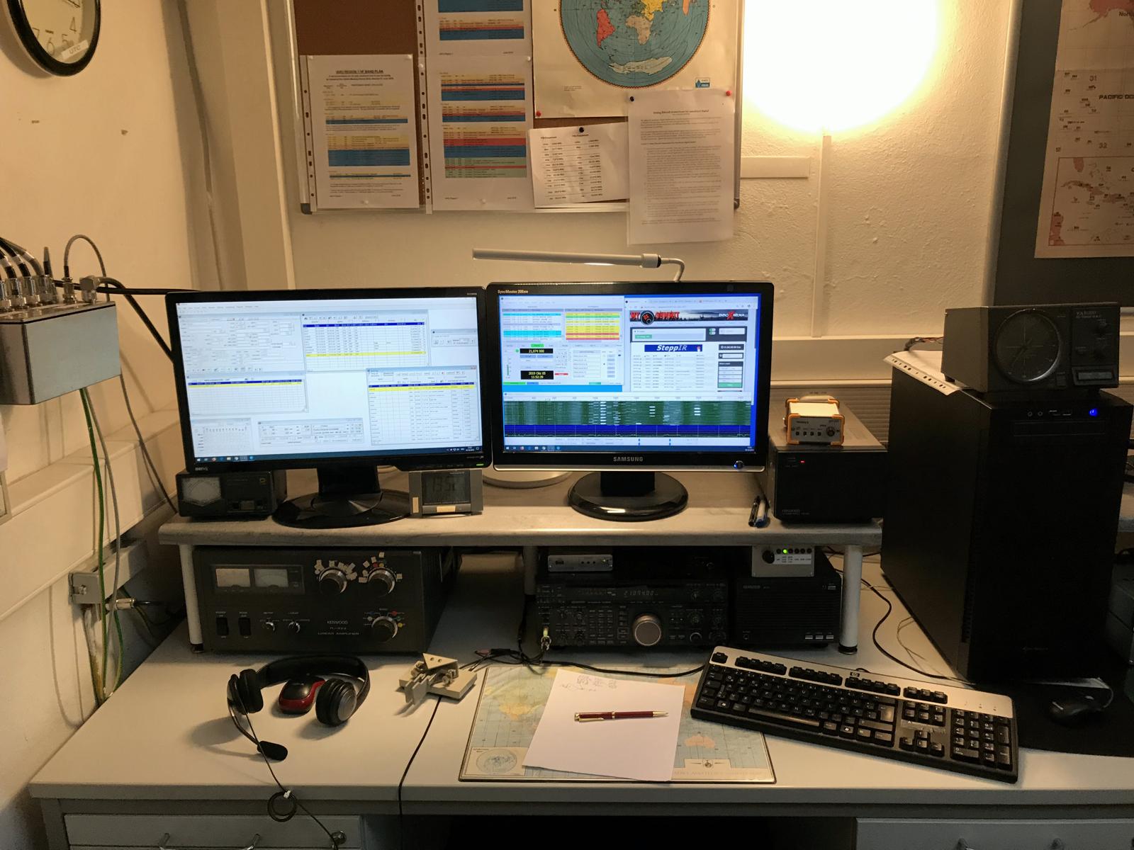 HF-Station #1: TS-850 & TL-922